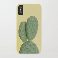 Yellow Cactus Slim Case iPhone X