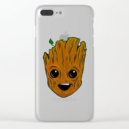 facegroot Clear iPhone Case