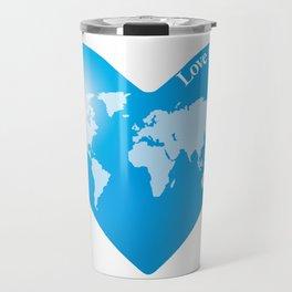 Love for the Earth_B Travel Mug