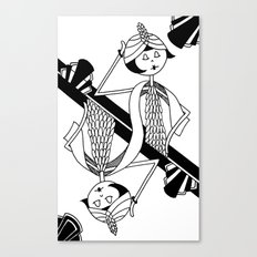 Playing card - King Canvas Print