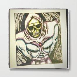 skeletor Metal Print