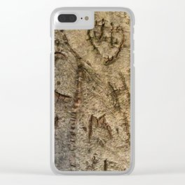 Love to Withstand Clear iPhone Case