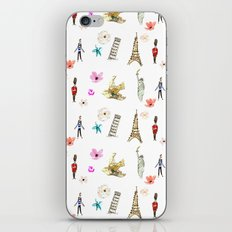 Travelling Fleur iPhone & iPod Skin