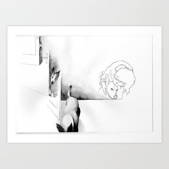 Geburtstag 2 Art Print