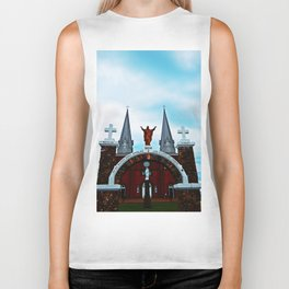 Church and Archway Biker Tank