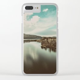Columbia Hills Clear iPhone Case
