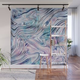 Bohemian Unicorn Marble Dream #1 #pastel #decor #art #society6 Wall Mural