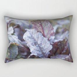Frozen Beetroot Rectangular Pillow