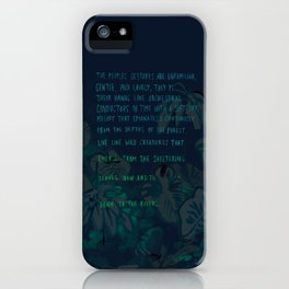 """""""Conquest of the Useless"""" by Werner Herzog Print (v. 4) iPhone Case"""