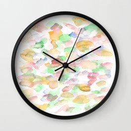 150725 My Happy Bubbles 30 Wall Clock