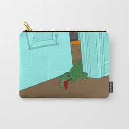 Bedroom Crocodile Carry-All Pouch