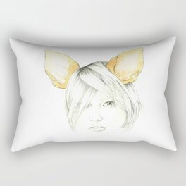 Chihuahua girl Rectangular Pillow