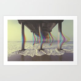 Turn on, tune in, drop out. Art Print