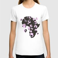africa T-shirts featuring Africa by Dreamy Me