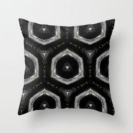 Black and White Pattern 05 Throw Pillow