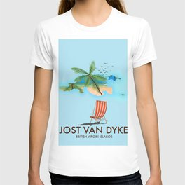 jost van dyke British Virgin Islands T-shirt