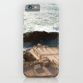 Rocky coast II  | Calm natural travel fine art print | Fuerteventura, Canary Islands, Spain iPhone Case