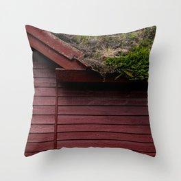The Scandinavian House Throw Pillow