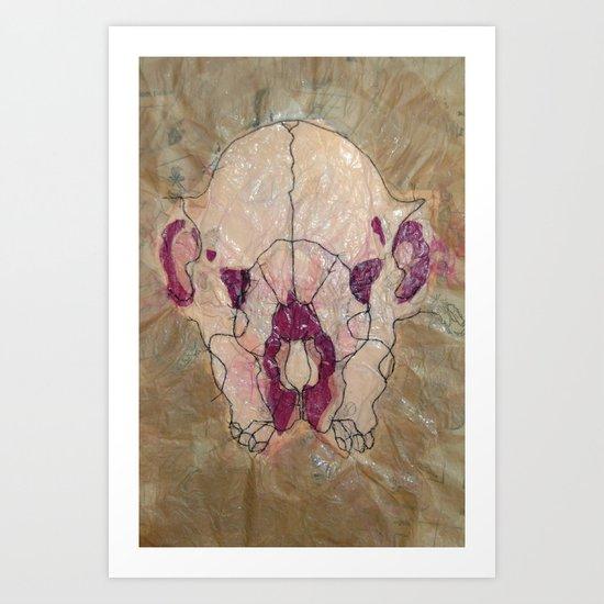 Mind Over Matter A Art Print
