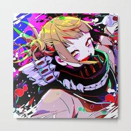 Super villain Himiko Toga Metal Print