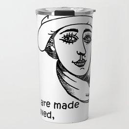 Real woman Travel Mug