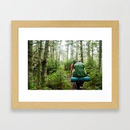 Thru Hike Framed Art Print