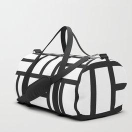 black and white squares Duffle Bag