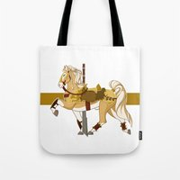 fili Tote Bags featuring Fili by MarieJacquelyn