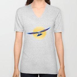 Hawk Starburst Unisex V-Neck