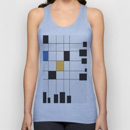 Simple Connections 6 Unisex Tank Top