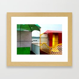 The Sea Within Framed Art Print