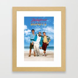 Weekend at Bomby's Framed Art Print
