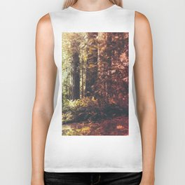 Beautiful California Redwoods Biker Tank