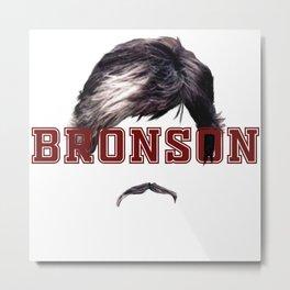 Bronson Metal Print
