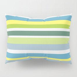 Beach Style Stripes Pillow Sham