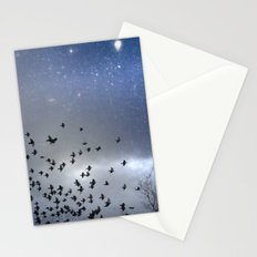 Star Dust Stationery Cards
