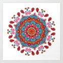 Mandala Hippie Flowers Spiritual Zen Bohemian Yoga Mantra Meditation by inspiredimages