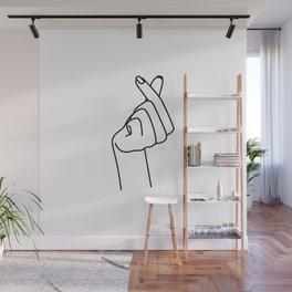 Love Finger Snap Wall Mural
