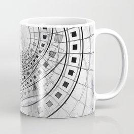 Split, Blasted, and Shattered Glass Film Strips Coffee Mug