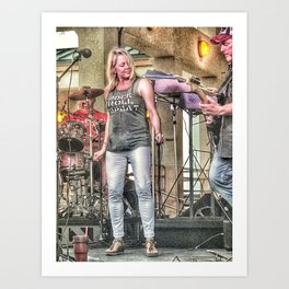 Rock And Roll Music Art Print