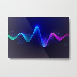 Rainbow Synthesizer  Metal Print