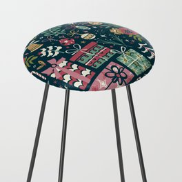 Christmas Joy Counter Stool