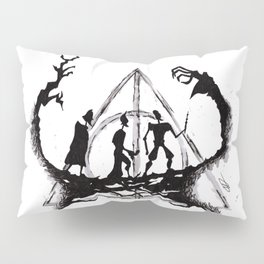 The Three Brothers Inktober Drawing Pillow Sham