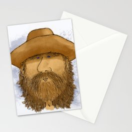 Flynt Locke, Cowboy Mountain Man Stationery Cards
