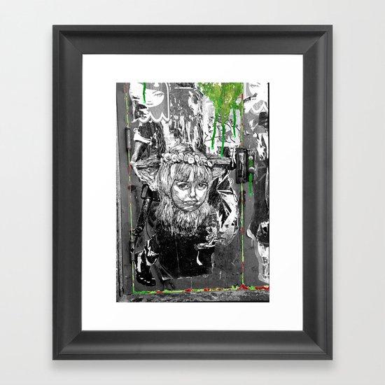 Lock n Key Framed Art Print