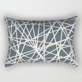 Almohadon Rectangular Red Azul Rectangular Pillow