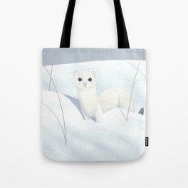 Ermine Weasel Tote Bag