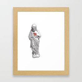 Sacred Heart Jesus Framed Art Print