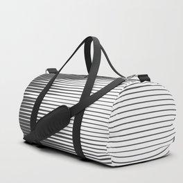 Grays Striped Duffle Bag