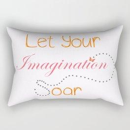 Soar Little Butterfly Rectangular Pillow